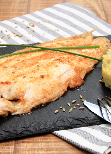 poisson sole au four