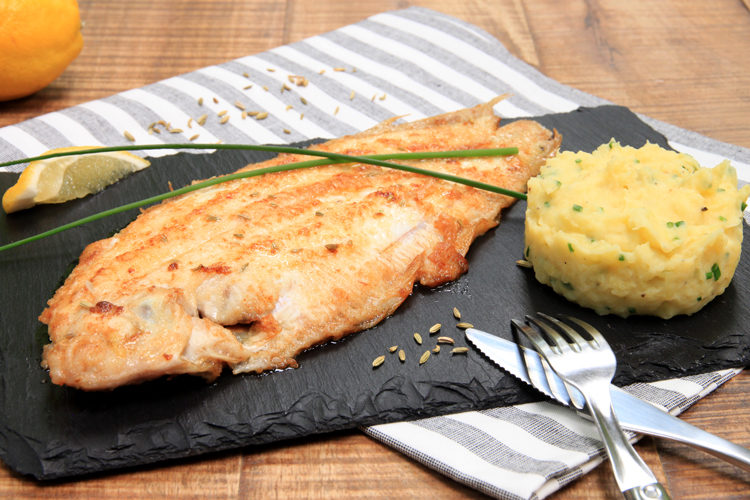 poisson sole au four