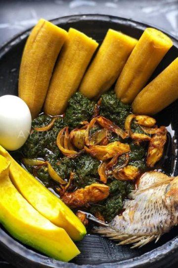 Feuille de manioc